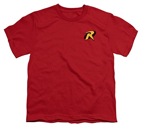 Robin Logo -- Batman & Robin Youth T-Shirt, Youth Medium