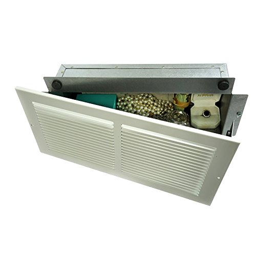 Professional Grade Products WS1 Wall Safe, Hidden as Air Vent in Plain Sight, Secures Jewelry, Valuables, Cash by Professional Grade Products