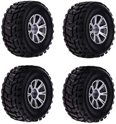 Perfeclan RCカータイヤ ホイールリム ゴム製 WLtoys A949 A959 A969 A979 K929 1/1