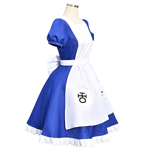 Madness Returns Costumes (Costume For Alice-Madness Returns Alice Cosplay Halloween Costumes For Women (XL))