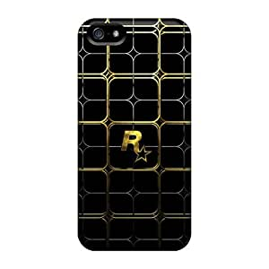 linJUN FENGMialisabblake Snap On Hard Case Cover Rockstar Gold Protector For Iphone 5/5s