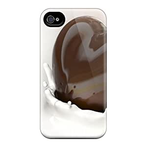 Rugged Skin Cases Covers For Iphone 6plus- Eco-friendly Packaging(chocolate Dip) Black Friday