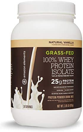 Amazon Elements Grass Fed Protein Isolate product image