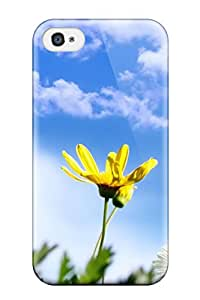 Best New 2 Spring Flowers Skin Case Cover Shatterproof Case For Iphone 4/4s