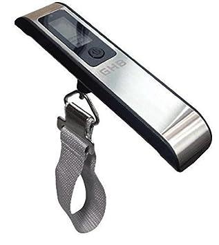 GHB Báscula Digital Capacidad 50KG para Equipaje Balanza Electrónica para Maletas Viaje, etc: Amazon.es: Electrónica