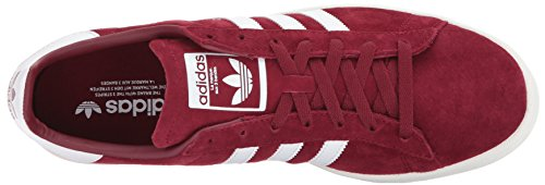White Chalk Campus Adidas White Collegiate Shoes Burgundy Men pS4wzq0
