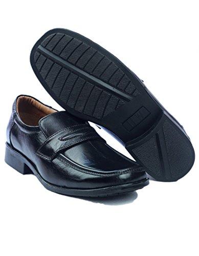 Amblers 11 7 6 Shoes on 8 10 Lined Negro 9 Slip Size Mens Black rpw7rZq