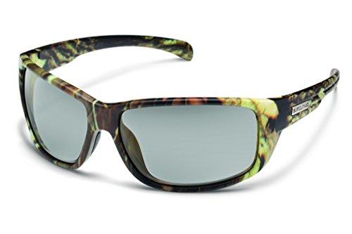 Suncloud Milestone Polarized Sunglasses, Matte Camo Frame, Gray - Sunglasses Camo Snow