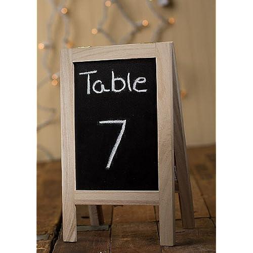 Delightful Set Of Three Folding Easels   Chalkboard On One Side, White Board On Other  Side   9 3/4 Idea