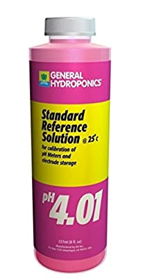1 Pc Blameless Popular GH Calibration SolutionsGeneral Buffer Allowing Growers Reliable Results pH4.01 Volume 8 oz