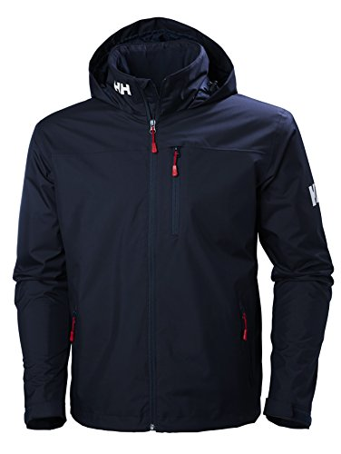 Helly Hansen Men's Crew Hooded Midlayer Jacket, Navy, Large from Helly Hansen