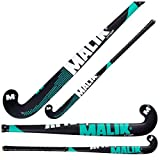Malik Field Hockey Stick Indoor Storm Wood Senior Teal Black 37.5