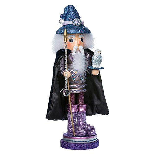 Kurt Adler 18-Inch Wooden Hollywood Wizard Nutcracker