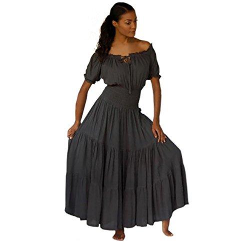 Kleid dunkelbraun