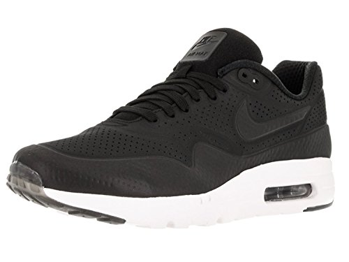 Nike Mens Air Max 1 Ultra Moire Black/White Synthetic Size 12 (Air Nike Max 1 Ultra Mens)