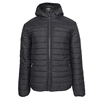 Leehanton Men's Hooded Packable Jackets Lightweight