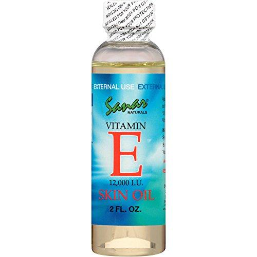 Sanar Naturals Vitamin E Skin Oil 12000 IU, 2 Fluid Ounce