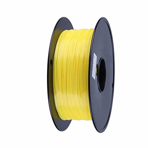 UPC 642554801148, American 3D Supply PLA 3D Printer Filament, 1 kg Spool, 1.75 mm, Yellow