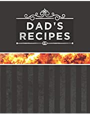 Dad's Recipes: Blank Recipe Book to Write in – Gift for Dads That Cook