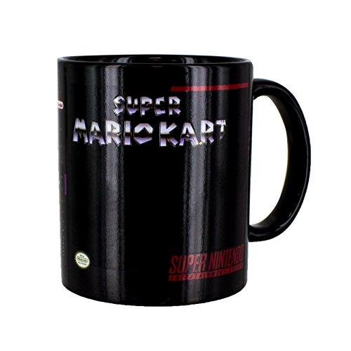 SNES Super Mario Kart Heat Changing Mug - Officially Licensed Nintendo Product 10oz