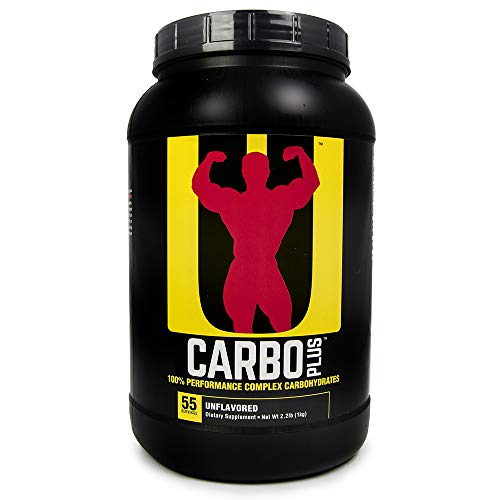 Universal Nutrition Carbo Plus (Unflavored), 55 servings / 1kg / 2.2lbs [2-Pack, 110 servings / 2kg / 4.4lbs total]