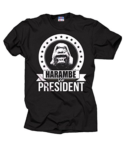 Harambe President T shirt Support Tshirt