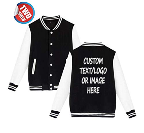 Unisex Custom Varsity Jacket Personalized Baseball Jacket Uniform Sweater -
