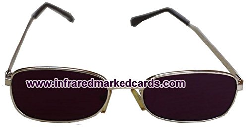 Infrared sunglasses to see luminous marked cards for magic - Sunglasses Infrared