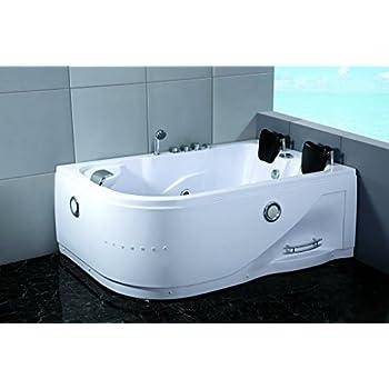 Amazon.com : 2 Person Indoor Hot Tub Massage Bathtub Hydrotherapy ...