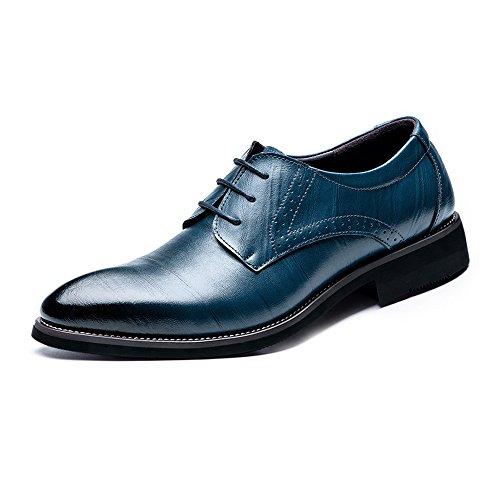 moderne da BMD Vino Shoes Blu da uomo in di Scarpe vera pelle Color pelle smoking EU Dimensione 39 Scarpe Xx0qg0Rw4