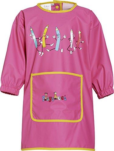 Playshoes 515305 - Malschürze mit Ärmeln Große: M / 104, pink