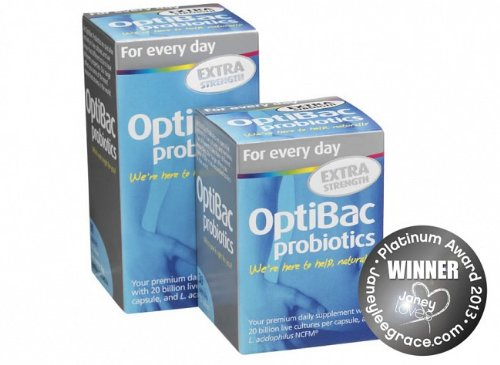 OptiBac Probiotics For Every Day Extra (Daily Wellbeing) 90 - Probiotic Extra Strength