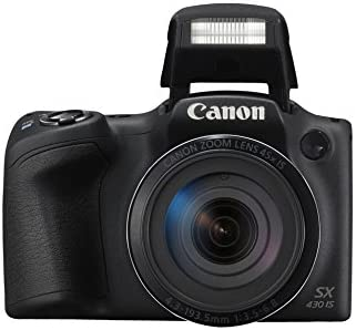 Canon PowerShot SX430 IS - Cámara compacta de 20 MP (Pantalla de 3 ...