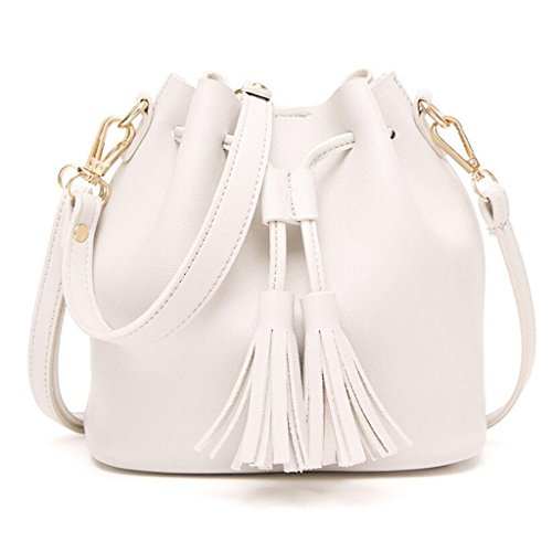 Woman Europe Purse color Messenger Bag Fashion Free Handbag Gkkxue States White Bag Bag Women Green The And United Tassel Portable ZCwE0xq10