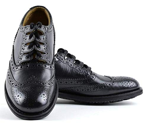 Military Ghillie Brogues Highland Wear (UK/8 US/9) -