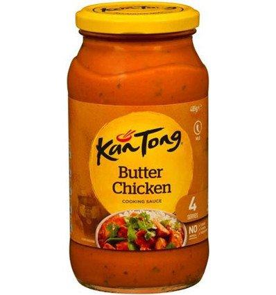 Kantong salteado en Salsa de Mantequilla de Pollo 485gm