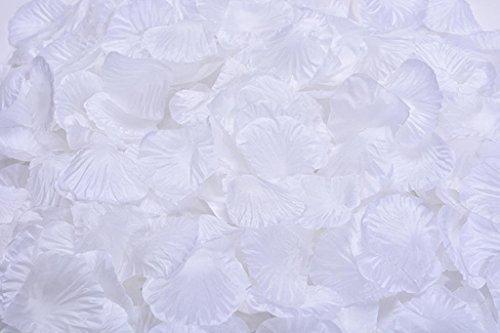 (Lorraine Wedding Table Decoration Silk Rose Petals Flowers Confetti (2000, Pure White))