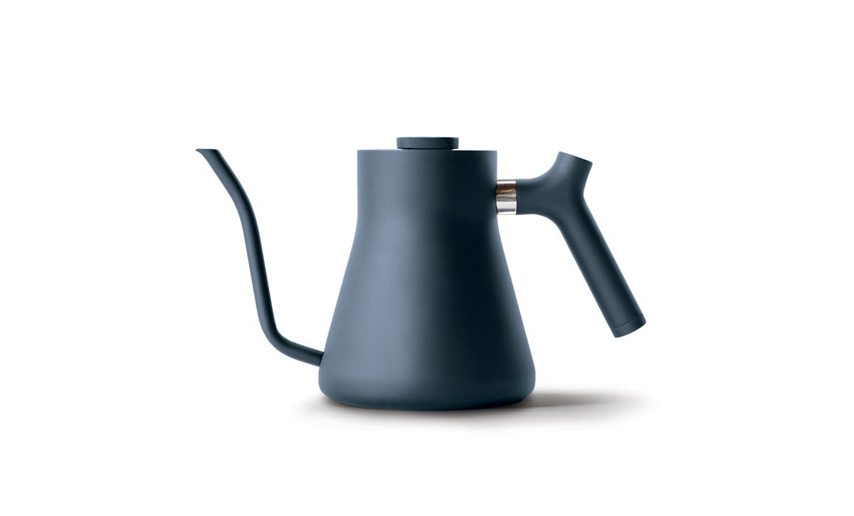 Fellow Stagg Pour Over Kettle, 1.0 Liter Gooseneck Kettle (Monochrome Stone Blue - Limited Edition Colour)