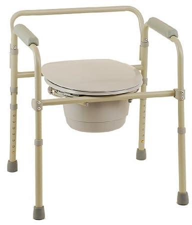 Amazon.com: Nova 8700-r silla de baño plegable: Beauty