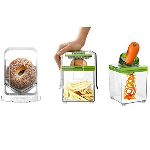 Prepara Slice, Dice, Curl and Spiral Maker Kit - (Thumb Carb Kit)