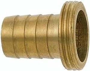 GEKA 76/3gsb Manguera Unión 1/3G 3/4Pulgadas 19mm de Latón, Oro, 18x 8x 13cm