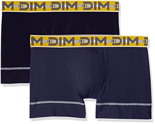 Boxer bleu Cobalt Homme De 6xq Bleu Flex Orage Lot 3d Uni Dim Stay Fit amp; 2 XBC17