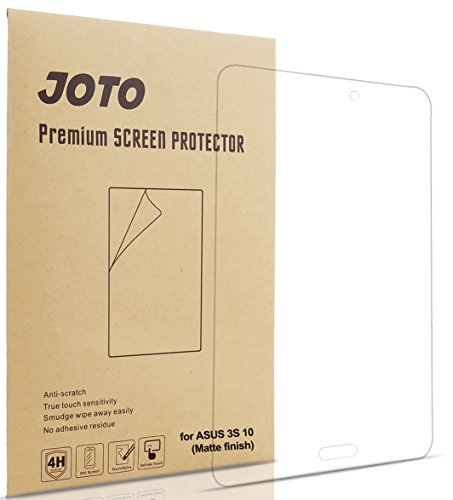 ASUS ZenPad 3S 10 Screen Protector Film, JOTO Anti Glare, Anti Fingerprint (Matte Finish) Screen Guard for ASUS ZenPad 3S 10 Z500M, (3 Pack) (Asus 10 Tablet Screen Protector)