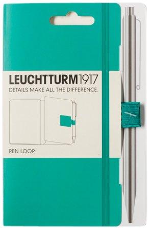 116 opinioni per Leuchtturm 1917- Anello laterale porta penna per agenda, supporto adesivo verde