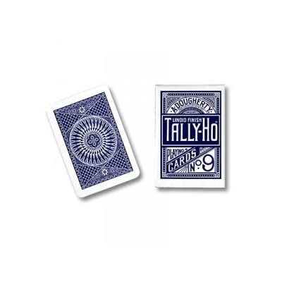 Cards Tally Ho Circle Back (Blue): Toys & Games