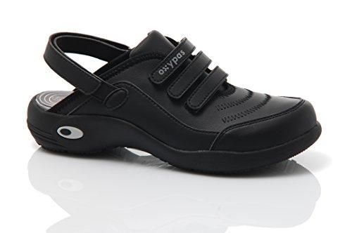 Médico Para Zapatos En Black Oxypas Diseñados Lavables Profesionales Médicos Ligeros Ue Cleo Los Ultralite Pls qxHwdpzq