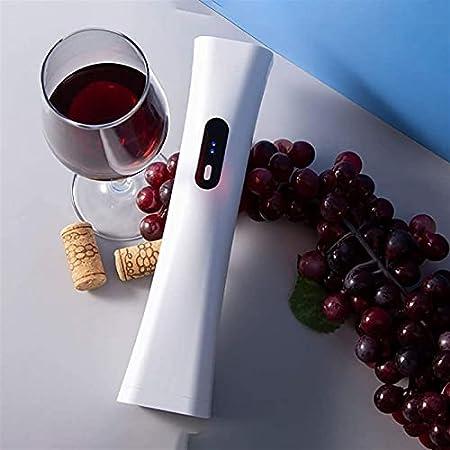 ELXSZJ XTZJ Openador de Vino eléctrico portátil: abrelatas de Botella de Vino con batería - automático, inalámbrico: Elimina fácilmente los corchos