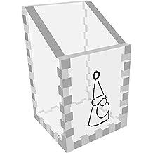 Mini 'Grumpy Gnome' Clear Desk Tidy / Pencil Holder (DT00047796)