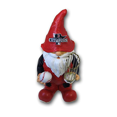 (FOCO MLB Boston Red Sox 2013 World Series Champions Team Thematic Gnome, Red)