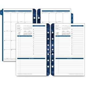 Franklin Covey Classic Monticello Dated Two-Page Per Week Planner Refill, 37062-18 2019    ()